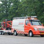 oranje servicebus Zegwaard Rioolontstopping